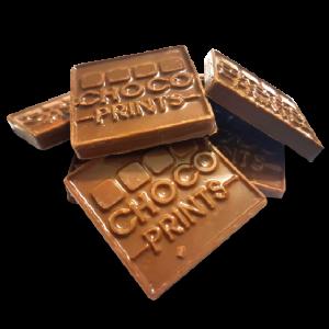 chocolate en alto relieve